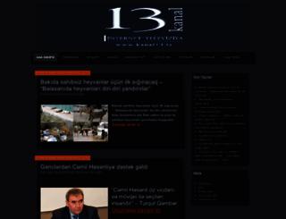 kanal13press.wordpress.com screenshot