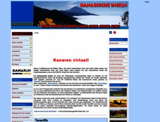 kanaren-virtuell.de screenshot