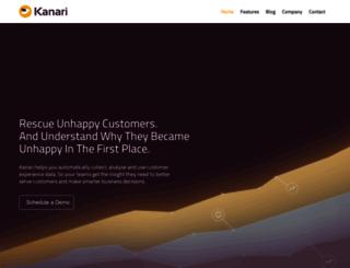 kanari.co screenshot