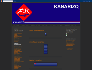 kanarizqtravel.blogspot.com screenshot