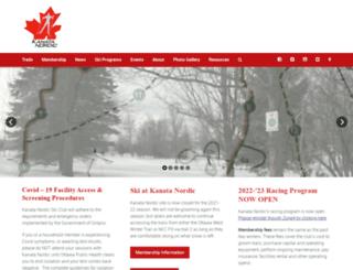 kanatanordic.ca screenshot