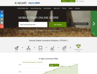 kancart.com screenshot