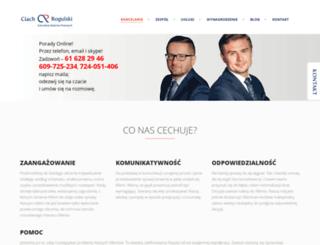 kancelaria-ciach.pl screenshot