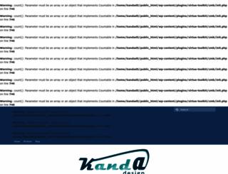 kanda-design.com screenshot