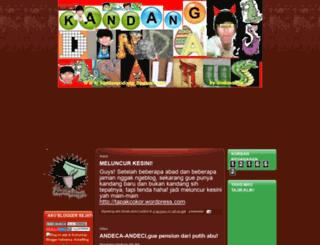 kandangsidinda.blogspot.com screenshot