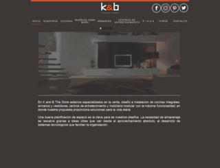 kandb.com.mx screenshot