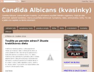 kandidoza.blogspot.cz screenshot