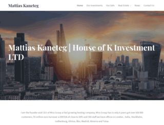 kaneteg.com screenshot