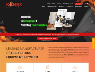 kanexfire.com screenshot