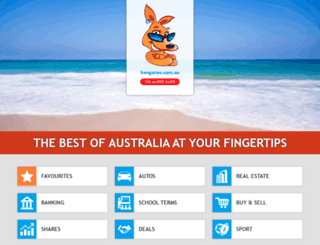 kangaroo.com.au screenshot