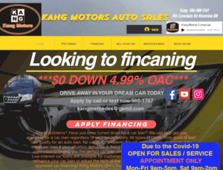 kangmotors.com screenshot