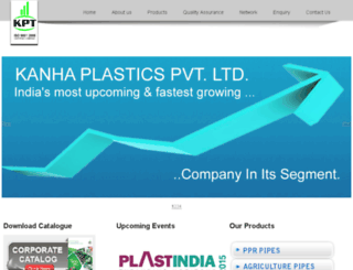 kanhaplastics.com screenshot