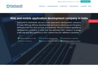 kanhasoft.com screenshot