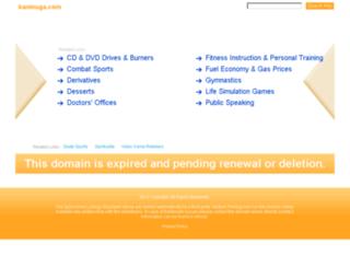 kaninuga.com screenshot