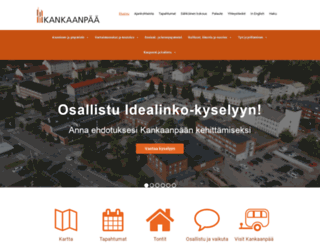 kankaanpaa.fi screenshot