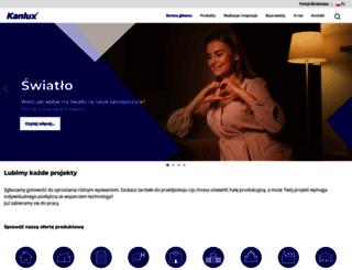 kanlux.pl screenshot