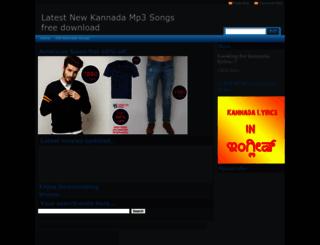 kannadageethe.blogspot.com screenshot