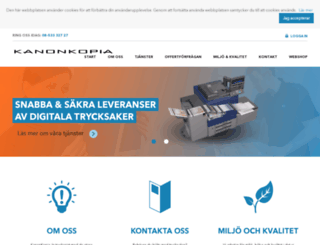 kanonkopia.se screenshot