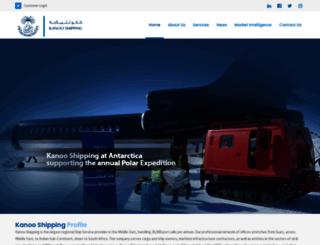 kanooshipping.com screenshot