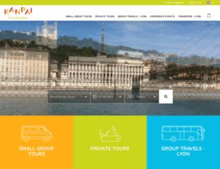 kanpai-tourisme.com screenshot