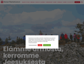 kansanraamattuseura.fi screenshot