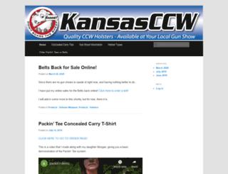 kansasccw.org screenshot