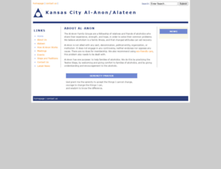 kansascity-al-anon.org screenshot