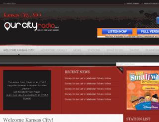 kansascity.ourcityradio.com screenshot