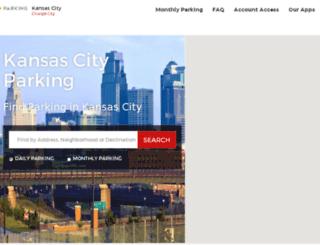 kansascityparking.spplus.com screenshot