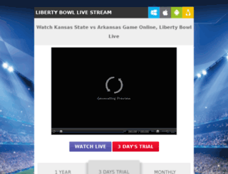 kansasfootballlive.com screenshot