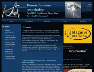 kansasjewelers.org screenshot