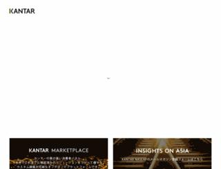 kantar.co.jp screenshot