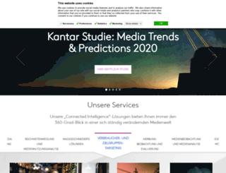 kantarmedia.de screenshot