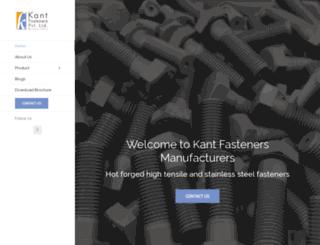 kantfasteners.com screenshot