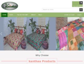kanthaa.com screenshot