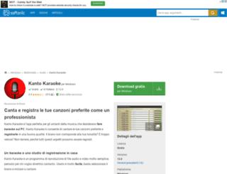 kanto-karaoke.softonic.it screenshot