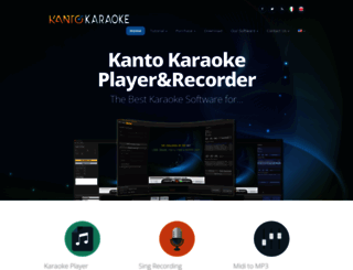 kantokaraoke.com screenshot