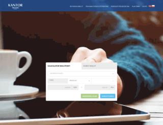 kantor-promes.pl screenshot