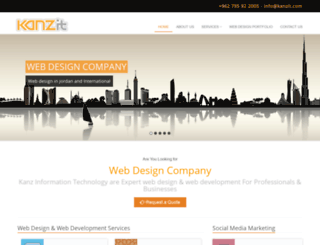 kanzit.com screenshot