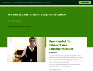 kanzlei-potthoff.de screenshot