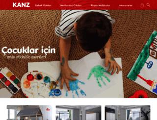 kanzmobilya.com screenshot