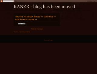 kanzr.blogspot.com screenshot