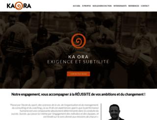 kaora.net screenshot