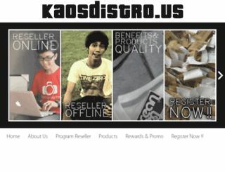 kaosdistro.us screenshot