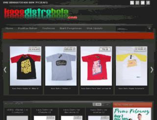 kaosdistrobola.com screenshot
