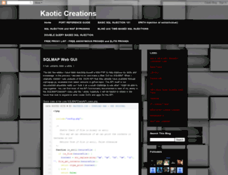 kaoticcreations.blogspot.mx screenshot