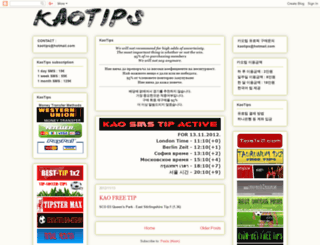 kaotips.blogspot.com screenshot