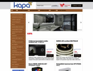kapa-toner.cz screenshot
