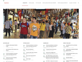 kapalicarsi.org.tr screenshot