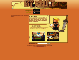 kapeika.mybrute.com screenshot